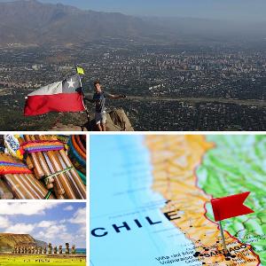 Photo étudiant au chilie